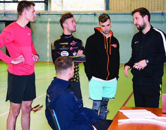 Testy zawodników Wybrzeża Gdańsk