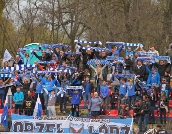 Orzel Łódź kibice
