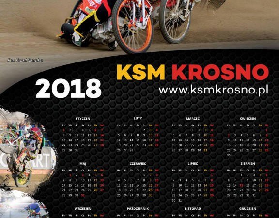 KSM Krosno kalendarz