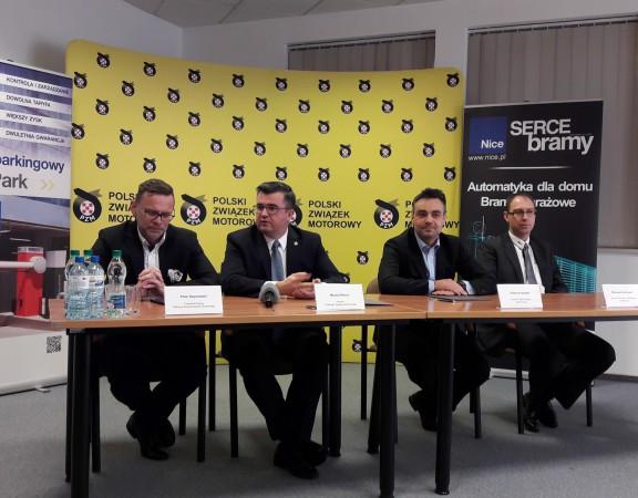 Piotr Szymański, Michał Sikora, Adam Krużyński, Wojciech Jankowski