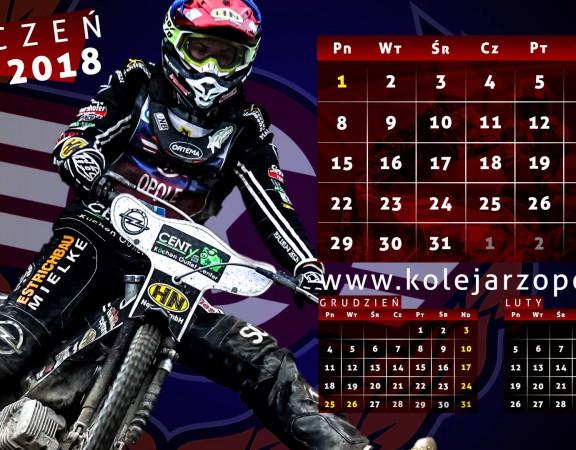 Kolejarz Opole kalendarz