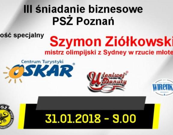 PSŻ Poznań zaproszenie