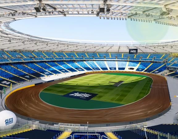Stadion Śląski tor żużlowy wizualizacja