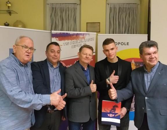 Kolejarz Opole Mateusz Adamczewski